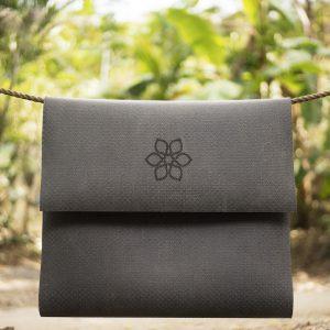 Divine Flower Mat Black