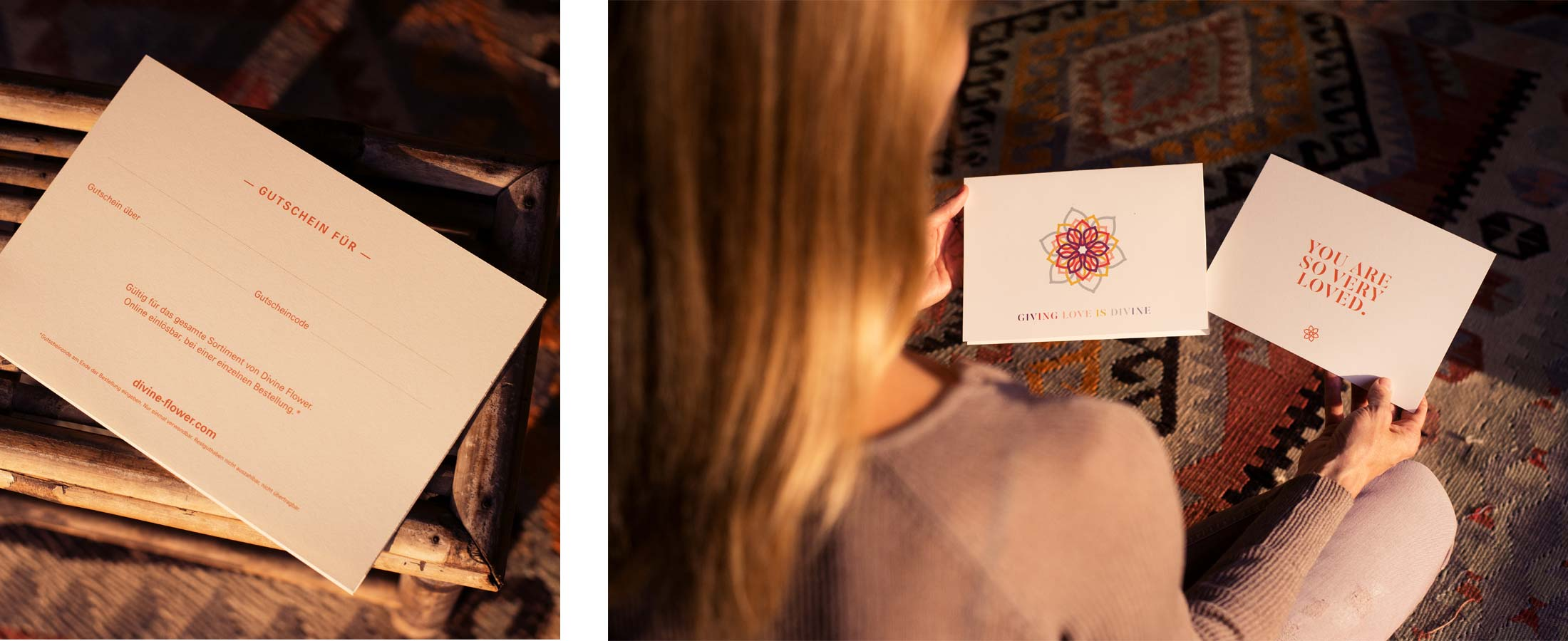 Divine Flower Giftcards
