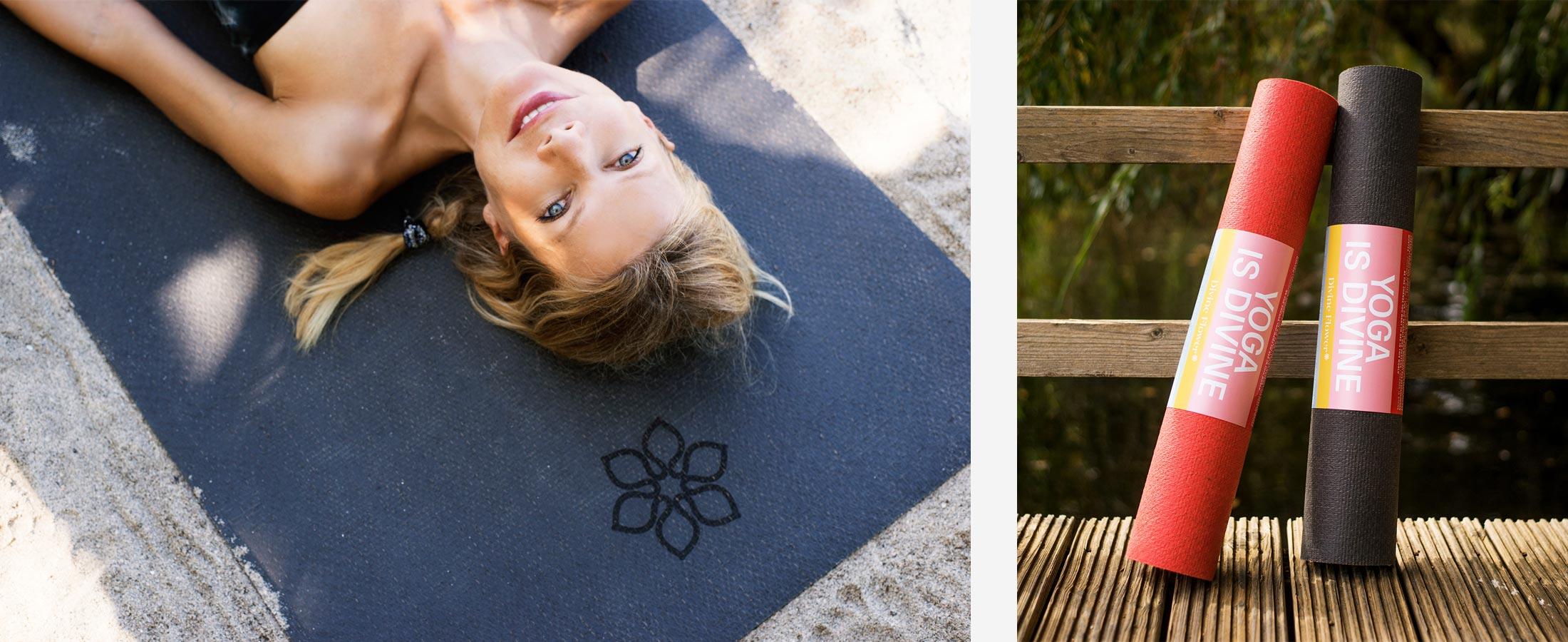 Yoga Matte Divine Flower