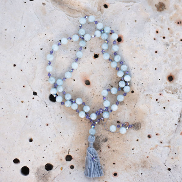 Divine Flower Mala Aquarius / Wassermann